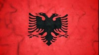 Albanian Flag Video Loop