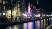 Amsterdam By Night Canals