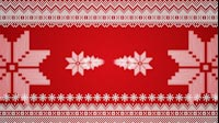 Knitted Christmas Star Sides