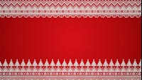 Knitted Christmas Tree Background