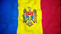 Moldovan Flag Video Loop