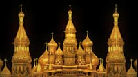Russia Cathedral Gold 1