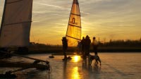 Icesailing Holland Magic Hour 2