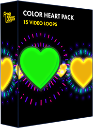 Color Heart Pack